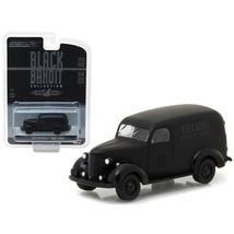 1939 Chevrolet Panel Van Black Bandit 1/64 Diecast Model Car by Greenlig... - $13.15