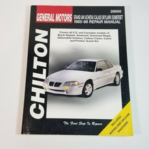 Chilton GM General Motors Repair Manual 28660 '85-'98 Buick Oldsmobile Pontiac  - $8.99