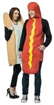 Hot Dog Bun Couples Costume Food Sweet Halloween Party Unique Cheap GC7295 - $59.99