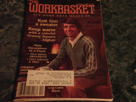 The Workbasket and Home Arts Magazine December 1981 Granny Boot - $2.99