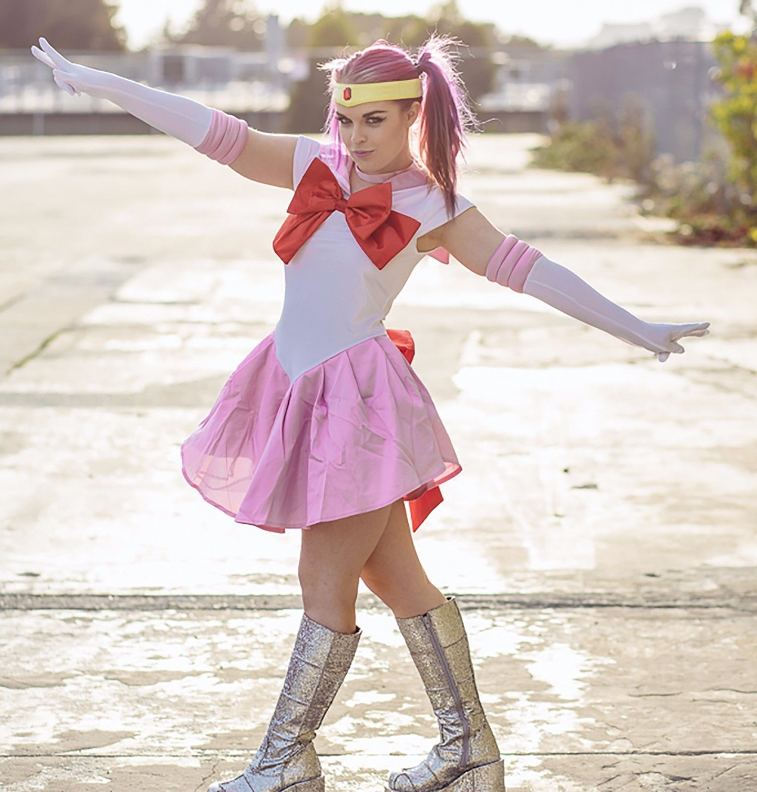 Pink Sailor Costume for Women