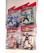 ✰ LOT of 4 POWER RANGERS SAMURAI figure MOC sealed - $67.75