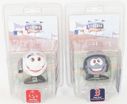 2 Lot Boston Red Sox - Mlb WIND-UP Baseball & Team Helmet Bleacher Creatures - $6.88