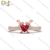 Pieces Of Heart Skyward Sword Inspired Wedding Ring Rose Gold Engagement... - €698,23 EUR