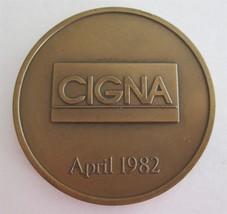 INA/ CIGNA/ CG: Insurance Anniversary & Merger- Mark-Medallion-Coin 1792... - $29.99