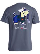 Puppie Love Rescue Dog Adult Unisex Short Sleeve Graphic T-Shirt, Marine... - $19.99