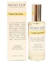 Demeter Vanilla Cake Batter By Demeter For Women. Pick-me Up Cologne Spray 4.0-O - $41.16