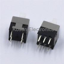 20pcs 6Pin Push Tactile Power Micro Latching Switch Self Lock On/ON Button  - $4.99