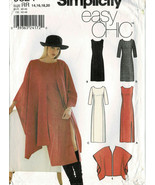 Misses/Plus Simplicity Easy Chic Pattern 9324 Dress, Wrap Sizes 14 to 20... - $4.46