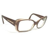 Anne Klein Light Brown Oversize Square Eyeglass FRAMES ONLY 3001 K5006 55 17 140 - $46.75