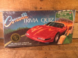National CORVETTE Museum Trivia Quiz Road Race Board Game 1994 NEW Sealed - $49.49