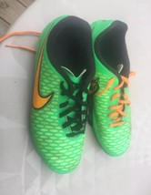 nike magista onda green soccer shoes cleats 4.5 snake alligator crocodil... - $25.00