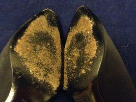 Diego Della Valle Women's Black High Heel Shoes Sz 5.5 image 6