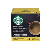 Starbucks Veranda Blend Capsule Coffee 8.5g * 12ea Dolce Gusto Compatible - $14.88