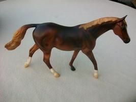 Breyer ARIAT Horse Model 500107 07 Limited Edition Retired Chestnut War... - $24.74