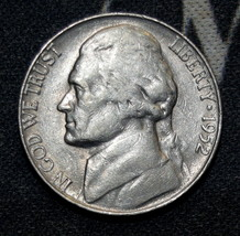 1952-S Circulated Jefferson Nickel Free Shipping! - $2.49