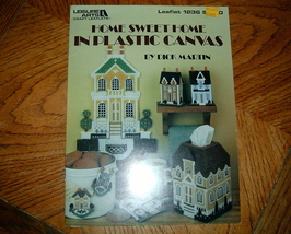 Home Sweet Home in Plastic Canvas Leisure Arts Leaflet 1236 - $4.50