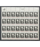 Dwight D. Eisenhower, Sheet of 6 cent stamps, 3... - $6.00