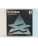 TRI-OMINOS Triangle Domino Game 1987 Playtoy Complete Bilingual Excellen... - $13.74