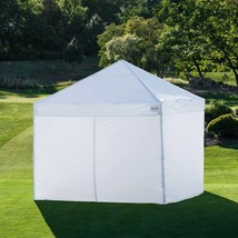 ProShade 10 ft x 10 ft Aluminum Instant Canopy, Sidewalls Ground Stakes ... - $281.36