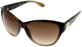Marc by Marc Jacobs Sunglasses Women Brown Cateye MMJ185S YMX02 - $167.31