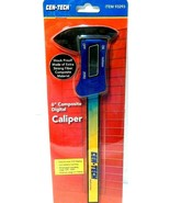 "Digital Calipers 6"" LCD Display Metric & Inch  Cen-Tech, NEW ! - $7.83"