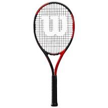 "Wilson BLX Fierce Tennis Racket, Red/Black, 4 1/2"" - $64.52"