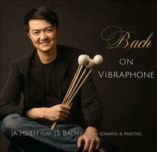 BACH ON VIBRAPHONE (CD, 2015, Classical) VJa Hsieh plays J.S. Bach's Violin - $26.32