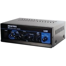 Pyle Pro Mini Stereo Power Amp (40w X 2) (pack of 1 Ea) - $64.14