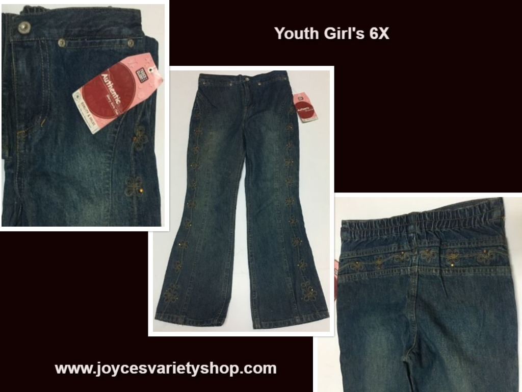 Faded glory youth 6x jeans girls web collage