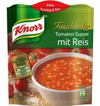 KNORR Tomaten Suppe / Cream of Tomato soup with RICE -2 portions-FREE SH... - $5.93