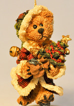 Boyds Bears & Friends: Elliot With Tree - 02507 - Bear Ornament - $14.47