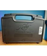 Factory  KIMBER Pistol Hand Gun Hard Case w/ Manual, Paperwork, & SIDE L... - $24.70