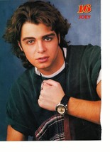 Joey Lawrence teen magazine pinup clipping Brothly Love with a Watch Tiger Beat