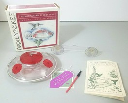 Droll Yankees Hummingbird Feeder Window Red Made in USA - $17.45