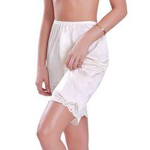 New Women's Premium Illusion Classic Trouser Pants Half Slip With Lace Trim 1037 image 3