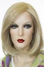 Haute 22F16 Blonde Medium Short Lace Front Monofilament Heat Friendly Wavy Wigs - $215.42