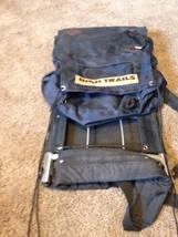 High Trails Metal Framed Backpack 8 Pocket Kidney Belt Ready For The Hills - $23.36