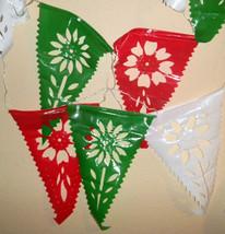 Mexico 16 De Sept Cinco De Mayo Fiesta Holiday Papel Picado Banners 30 F... - $12.20