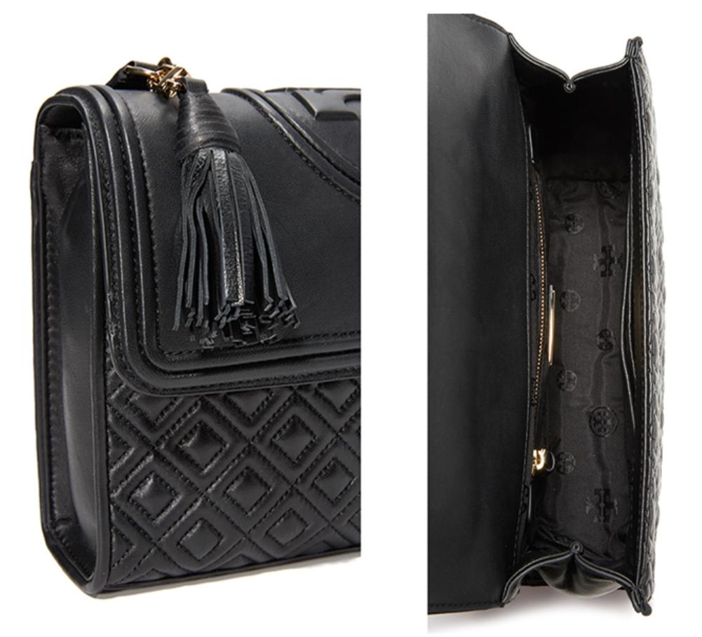 Tory Burch Fleming Large Convertible Shoulder Bag Black 43833  Free Shipping image 5
