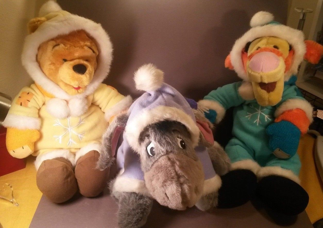0469b50c0 Vintage Disney Store Winnie the Pooh, Eeyore and 50 similar items