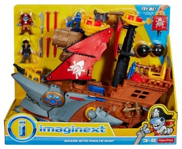 Fisher-Price Imaginext Shark Bite Pirate Ship - $68.52