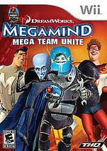 Megamind: Mega Team Unite (Nintendo Wii, 2010) Complete - $6.92
