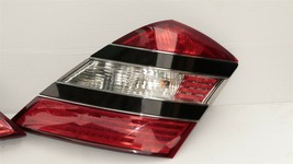 07-09 Mercedes 221 S550 S600 Tailight Tail Light Lamps Set L&R image 2
