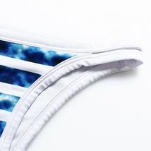 Striped Bikini Set Halter Triangle Push Up Swimsuit Low Waist Swimwear Brazilian image 10