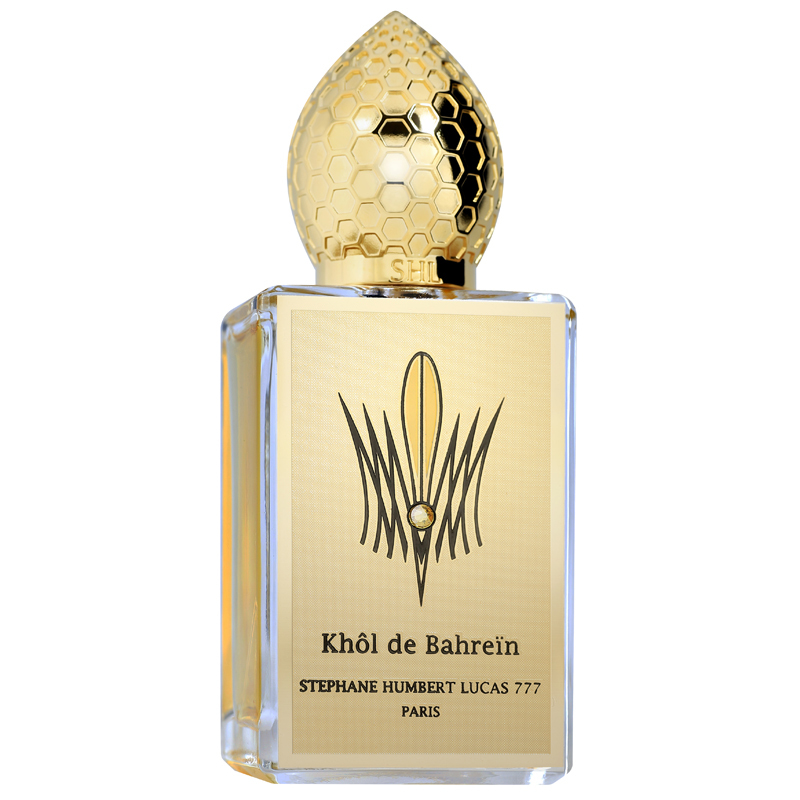 KHOL DE BAHREIN by 777 5ml Travel Spray Parfum SHL Ambergris Iris Sandlewood