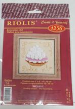 RIOLIS Cream Pie Dessert Embroidery Cross Stitch Kit #1256 NEW Dolce Vit... - $9.99