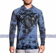 American Fighter Undermine 331OW111 New Men`s Grey Pullover Jersey Affliction
