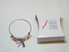 Ladies Womens Avon Breast Cancer Crusade Charm Bracelet F3983781 NIP - $13.35