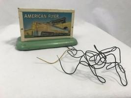 Vintage American Flyer a. C.Gilbert Co.1950 Leuchtend Zug Zeichen - $39.88